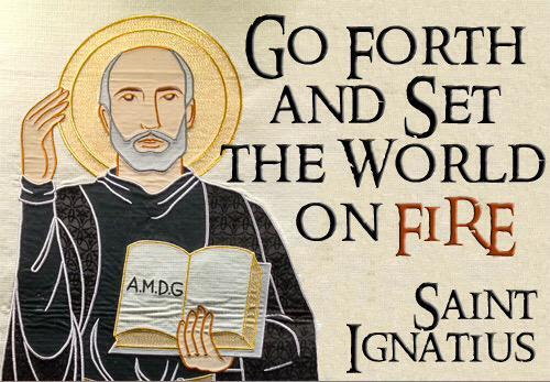 Happy Feast of St Ignatius of Loyola! http://t.co/PbmqNqw96H