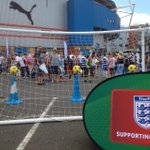 Bucks & Berks FA have their target game in the Royals Fun Zone. Prizes up for grabs! #MyTownMyClub http://t.co/akG3doENyg