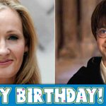 A big Happy Birthday to J. K. Rowling and a fictional one to the wizard she created, Harry Potter! ???? ???? http://t.co/1ZKk1DFcNQ