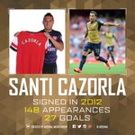And heres some Santi stats... what do you like most about @19SCazorla? http://t.co/jJkRYUP3nF