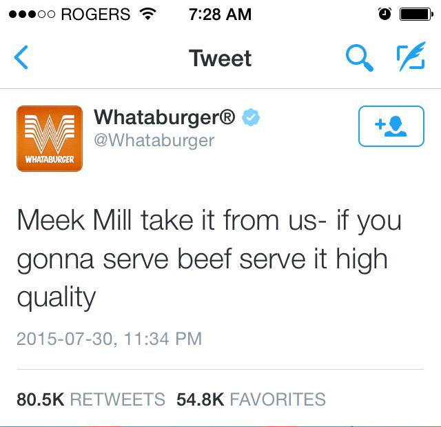 Sigh. If I were Meek I'd become a vegetarian at this point http://t.co/UWaSQSl9ti