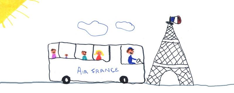 Enjoy a stress-free arrival at the airport with Air France coaches!
