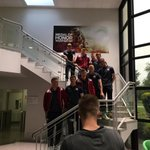 #gufc players at @EA Galway headquarters this morning for a press briefing. http://t.co/sytG2dJwEx