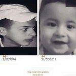جريمتين بحق الانسانية وبحق الفلسطينين في اقل من عامين #فلسطين #حرقوا_الرضيع #ابو _خضير http://t.co/k6MYk61xOJ