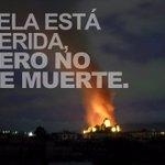 En redes sociales comparten esta imagen, luego del incendio en Centro Histórico #Xela. http://t.co/x0R2KBuLhH