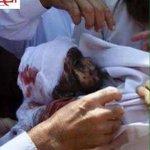 موجة غضب تجتاح مواقع التواصل الاجتماعي بعد حرق رضيع فلسطيني على يد يهود في #دوما جنوب #نابلس . #فلسطين #حرقوا_الرضيع http://t.co/tGAobmJ39W