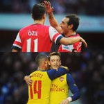 A good day for every Gooner! Two top quality players stay @Arsenal 😊👌 #YaGunnersYa http://t.co/YBnLE3NiSg