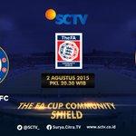 FA Community Shield CHELSEA vs ARSENAL LIVE ll Minggu, 02 Agustus 2015 ll Pukul 20.30 WIB #CommunityShield http://t.co/BWNYeOVZKM