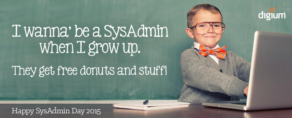 To the real #ITHero of the biz world, the SysAdmin, we say Thank You! http://t.co/0cR2TzNPXF Happy #SysAdminDay! http://t.co/wghfy4EgxY