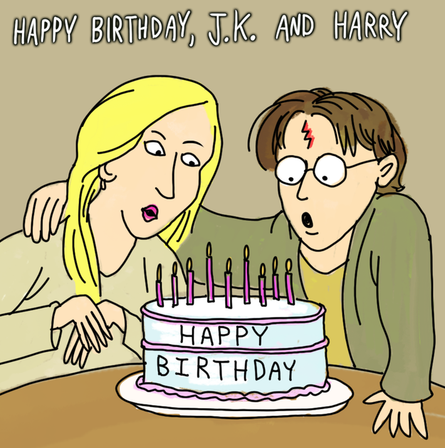 Happy And Harry Potter Birthday Day!