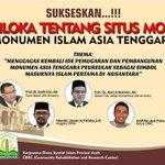 #InfoEvent Sukseskan Semiloka Tentang Situs Monumen Islam Asia Tenggara di Hotel Kartika Langsa 8-8-2015 @iloveaceh http://t.co/xYeuQ0MgBz
