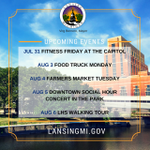 Dont miss the fun in Lansing! Check out some of the upcoming events. Details: http://t.co/ZmdSuP1LQv #LoveLansing http://t.co/AQwjy05gwy