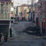 El día después, imágenes de lo que el fuego consumió en incendio del Centro Histórico de #Xela @ErickColop  http://t.co/H1ZmuOppWo