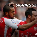Theo Walcott and Santi Cazorla sign new deals with @Arsenal -> http://t.co/UA8WiVdAJj #SSFootball http://t.co/YuSr1qYk2N