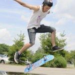 Catch #Oakvilles movable skateboard park; cycles btwn 3 locales @townofoakville @YMCAOakville http://t.co/A31BghvlLM http://t.co/QmJ7ta7Q1s