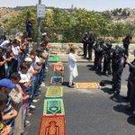 صلاة الغائب على الطفل علي عند الحواجز الإسرائيلية في الضفة الفلسطينية المحتلة. #حرقوا_الرضيع #WasBurnedAlive http://t.co/fdPm4Ur7I0