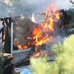 VIDEO ADDED: Home destroyed in early morning fire near #Penticton http://t.co/PDhUNlYvWg http://t.co/a6DqnpryvI