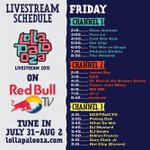 The #Lolla gates are open and you can keep up with the action from Grant Park via @RedBullTV.http://t.co/B9zIo1cGSn http://t.co/PXcKv4rS8H