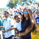 #Seahawks quarterback #RussellWilson has many fans here @ #SeahawksCamp, including @Ciara and her little guy Future. http://t.co/MkV10ycxgV