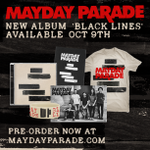 Pre-order bundles for @maydayparades new album #BlackLines are now available on http://t.co/6y4hxqlUob! http://t.co/wN44146qwn