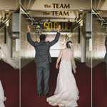"Ohio St groom/Michigan Stadium reception? ""He said yes...if he could do some Buckeyes stuff."" http://t.co/NRvpucee5m http://t.co/iozfk7H1wG"
