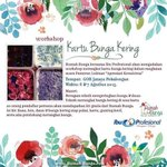 [Event] Workshop Kartu Bunga Kering. 6-7 Agustus 2015 di GOR Jatayu Kota Pekalongan. Cc @kotabatik @radio_kotabatik http://t.co/9sQ0NfNISu