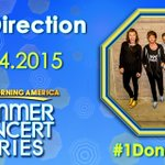 ONE. DIRECTION. ON. @GMA. @onedirection will perform in the @GMA Summer Concert Series next Tuesday, Aug 4! #1DonGMA http://t.co/rZVJFVqPDE
