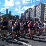 The line to get into #Lolla ... Gates open at 11. http://t.co/TDrv3TiSbh