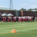 First day of camp is in the books! #RiseUp http://t.co/XkVWswmasa