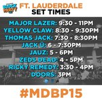 Ft Lauderdale! Tomorrow is going to be fun @diplo @maddecent #MDBP15 #soldout http://t.co/NZNWw4AydS