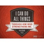 "#VerseOfTheDay ""I can do all things through him who strengthens me.""—Philippians 4:13 http://t.co/w50atwgQ7m"