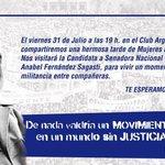 Todos y todas invitados a participar! A las 19 hs en el Club Argentino de #Alvear #Mendoza http://t.co/2PWngy1Avn