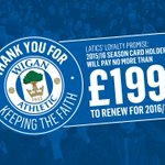 Make sure youre part of the #NewEra - Renew or buy now on http://t.co/ykqlH7e2JC - http://t.co/amuoS8cC47 #wafc http://t.co/sKEgITUhBp