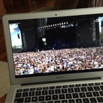 yanno casually watching the lollapalooza livestream because Im not there @lollapalooza http://t.co/1yvWudmz3b