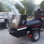 Falcons fan Stan Andrews awesome grill was stolen this week. Keep an eye out and lets get it back where it belongs! http://t.co/U9vVZq4Skq