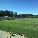 The #12s are here and its a perfect day for our first practice!! Happy #BlueFriday! #GoHawks http://t.co/fwl6dv0ppf