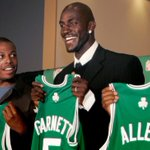 On this date in 07, the Celtics acquired Kevin Garnett. A year later, the Boston Big 3 won a title. #FlashbackFriday http://t.co/8AgHnETmNc