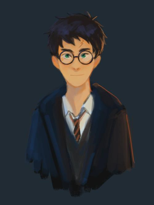 Happy birthday to harry potter, the boy who lived, the boy who was loved, the boy who should have laughed more. :))
