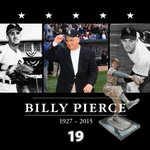 The White Sox mourn the loss of legend Billy Pierce, who passed away this morning at the age of 88. http://t.co/HR9pDMjjLy