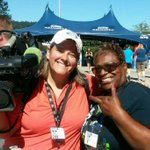 Met Momma Lynch at Seahawks training day!! Awesome lady! http://t.co/SEXxsPt6Gp