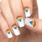 Too cute! A stylish way to support @VancouverPride: Pride Nails http://t.co/lnIeQJ8FOK #nails #nailart #pride2015 http://t.co/POR3sQQCNK