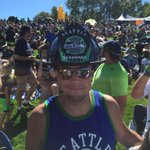 Fireman John from Ocean Shores FD with the hat/helmet of the day at #SeahawksCamp #Seahawks #liveonkomo http://t.co/MDw9JUrvfV