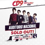 31/07 01/08 - SOLD OUT #CD9TAKEOVERAUDITORIONACIONAL #EsteEsElVerdaderoComienzoCD9 #ThePartyWorldTour http://t.co/L33UkFhr91