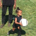 "My future son will play striker ""@KimKardashian: Officially a soccer mom! #MyLittleGoalie ⚽️⚽️⚽️ http://t.co/rWjGD0eBTP"""