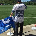 Just maybe...maybe.... it might be time for a new #Seahawks jersey. #SeahawksCamp #liveonkomo http://t.co/p9BPoD4ChX