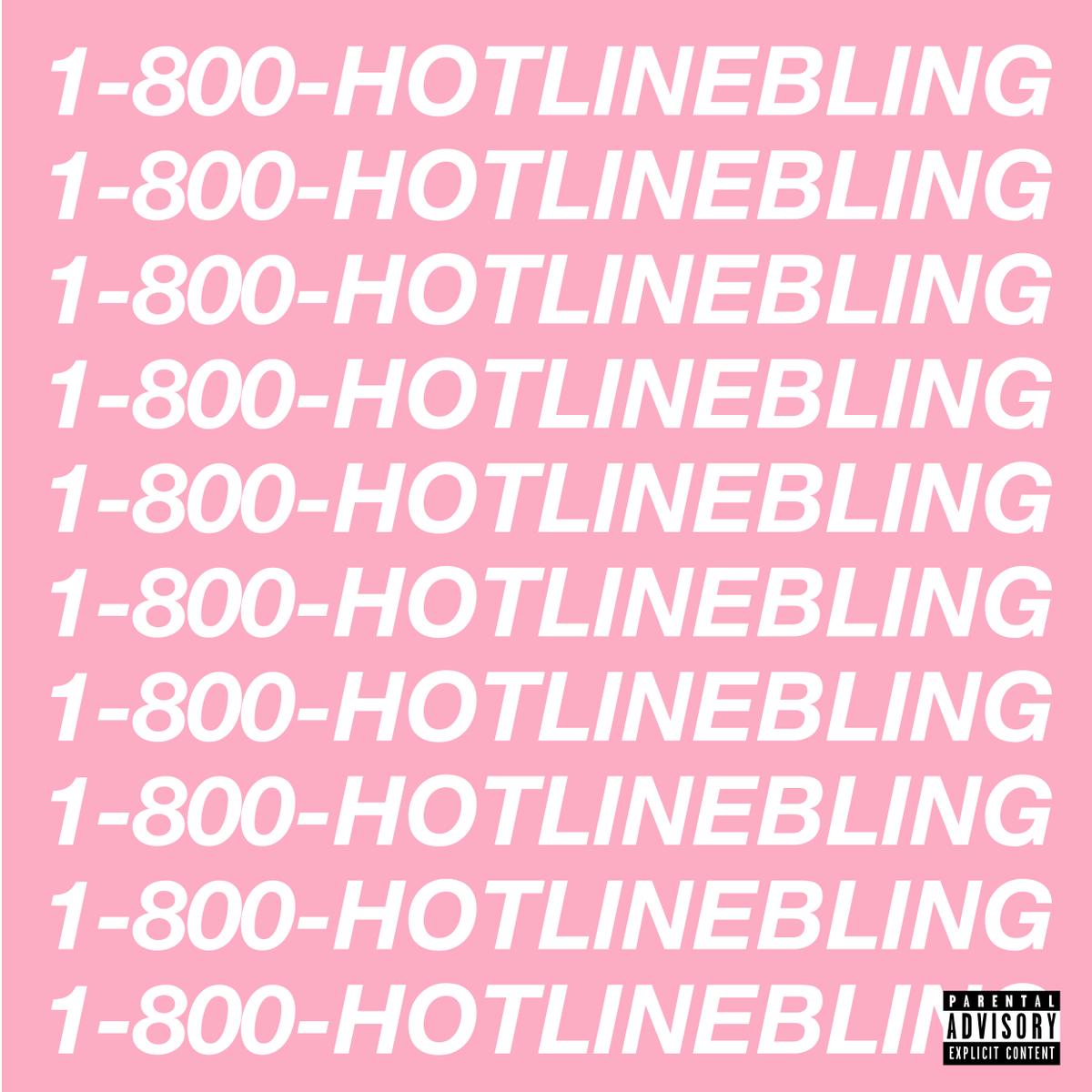 Drake ~ Hotline Bling now available on iTunes. https://t.co/zmGm4dNE5j http://t.co/JDFLs8vUxD