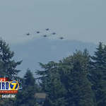 The U.S. Navy Blue Angels are practicing right now in #Seattle! Watch on http://t.co/6Abb2NmSBG! http://t.co/96UvRAIMD7