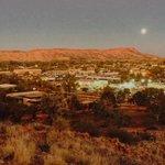 Once in a blue moon, #AliceSprings http://t.co/W4TSAsu0ao