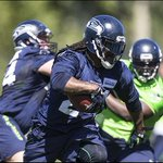 #Seahawks already going #Beastmode at training camp! Check out more photos from Day 1: http://t.co/84unLn4ZkO http://t.co/OE1Hlwu9Mo