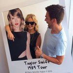 .@denaijohnson & @Chris_Palliser with @TaylorSwift13 ! Join us tomorrow at her concert! http://t.co/E4tipVQYua http://t.co/BSnSIIkDsO